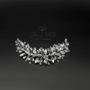 Kristina crystal hairvine